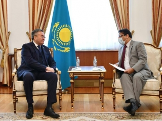 Kazakh Foreign Minister, Pakistani Ambassador discussed coop issues