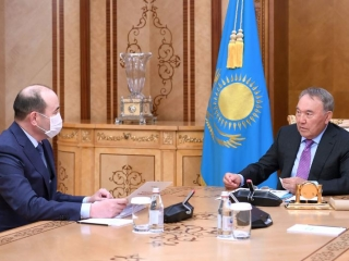 Security Council Chairman, Kazakh Prosecutor General held talks