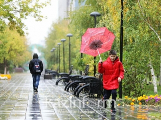 Rain and snow to grip Kazakh capital