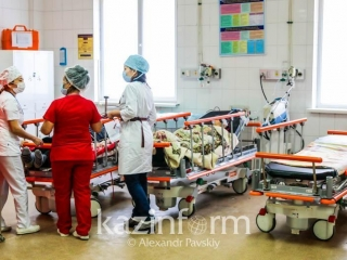 Number of patients with severe COVID-19 in Kazakhstan stands at 95