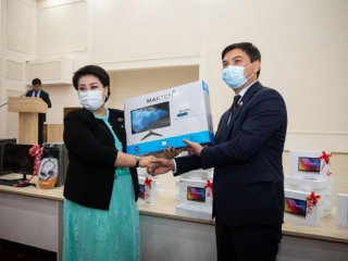 Schoolchildren to receive over 22 thou computers in Atyrau rgn