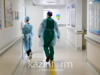 300-bed infectious diseases hospital built in Almaty in 2 mths