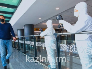 Almaty Airport tightens sanitary and epidemic control
