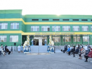 300-seat school opens in Atyrau