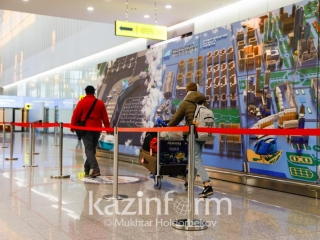 Nur-Sultan, Almaty airports receive first int'l flights with new sanitary rules in place