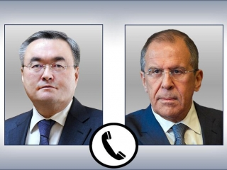 Kazakh, Russian Foreign Ministers held phone talk