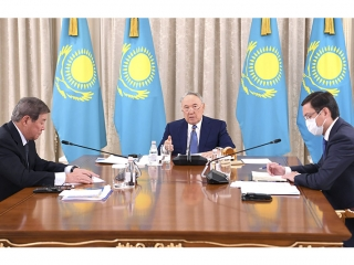 Elbasy chairs session of Council on management of Samruk-Kazyna Fund