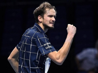 Russian tennis player Medvedev wins ATP Finals in London