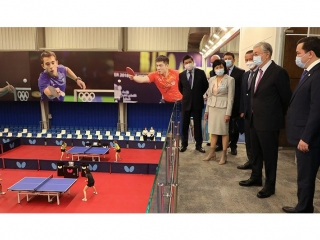 President Tokayev visits a number of sports facilities in Karaganda