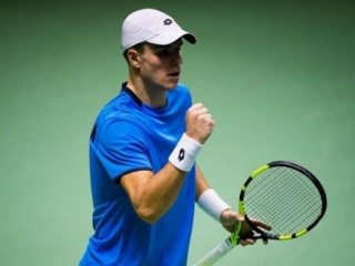 Kazakhstani Popko advances into 2nd round of ATP Tour Challenger event in Brazil