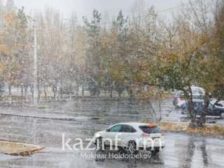 Snow and wind to batter Kazakhstan's west