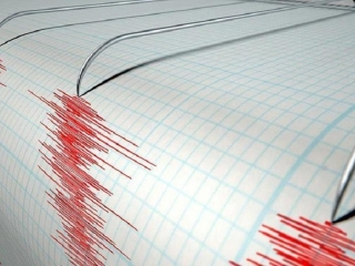 Quake recorded on the Caspian Sea