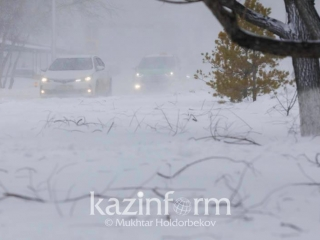Fog, snow and blizzard to grip Kazakhstan Tue