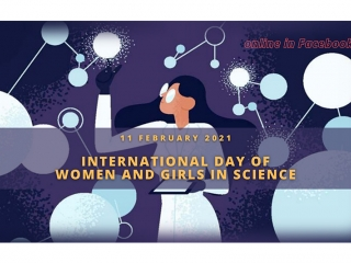 Online: International Day of Women and Girls in Science on Feb 11