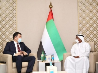 IOFS Director-General, UAE officials discuss strengthening interaction in food security field