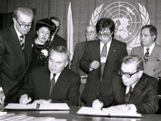 29 years ago Kazakhstan became a member of the United Nations