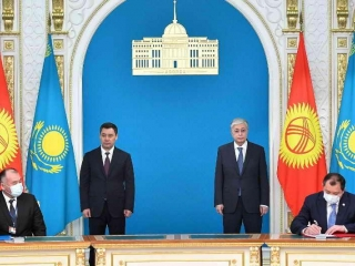Kazakhstan and Kyrgyzstan sign a package of agreements
