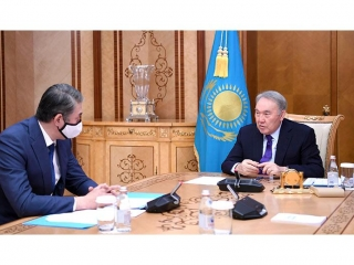 Security Council Chairman receives Asset Issekeshev