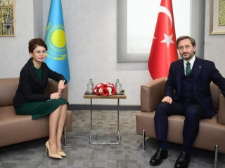 Kazakh Information Minister Aida Balayeva paid working visit to Turkey
