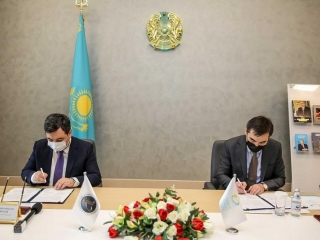 Library of Elbasy, Turkic Academy sing memorandum of cooperation