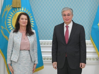 Kazakh President receives Minister for Foreign Affairs of Sweden Ann Linde