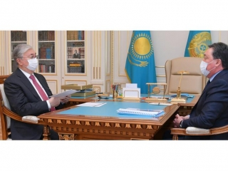Head of State receives Prime Minister Askar Mamin