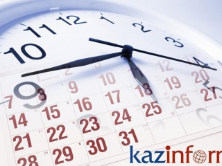 April 14. Kazinform's timeline of major events