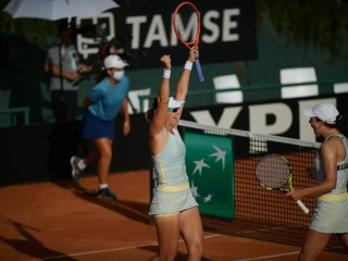 Kazakhstani tandem seals win against Argentina in Billie Jean King Cup play-offs