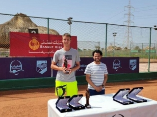 Kazakh-German tandem claims ITF title in Egypt