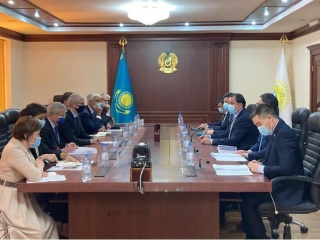 Kazakhstan, France debate scope for coop in fuel and energy complex
