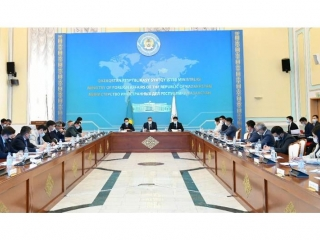 Implementation of priorities of Kazakhstan's CICA Chairmanship discussed at Kazakh MFA