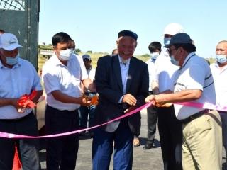Водопровод запустили в двух селах Ордабасинского района Туркестанской области