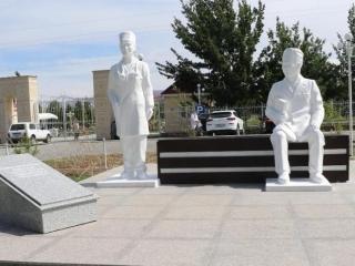 Аллея врачей открылась в Туркестанской области